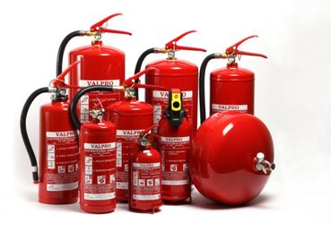 Fire extinguishers 6